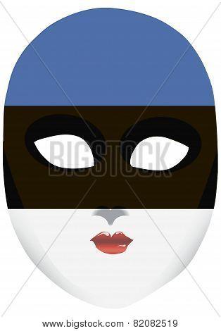 Estonia Mask
