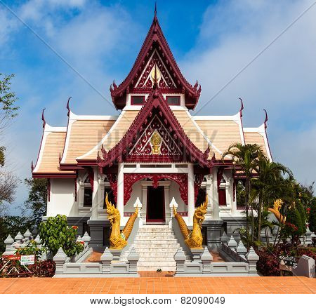 Bhuddist temple (Wat) in Mae Salong Thailand.