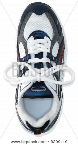 Unbranded Single Running Shoe Trainer On A White Background