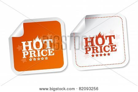 Hot price stickers