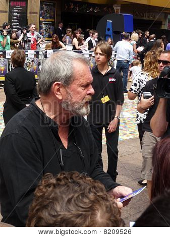 Terry Gilliam At Toy Story 3 Premiere In Central London 18Th July 2010