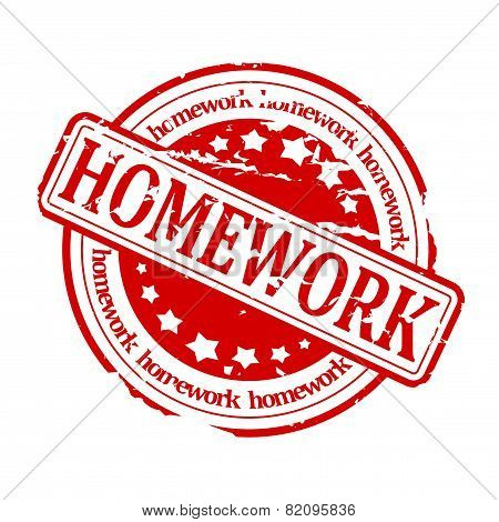 Red Stamp - Homework