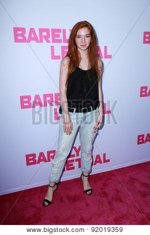 LOS ANGELES - MAY 27:  Annalise Basso at the