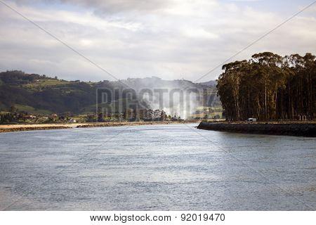 Smoke In A Estuary