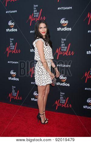 LOS ANGELES - MAY 28:  Karla Souza at the