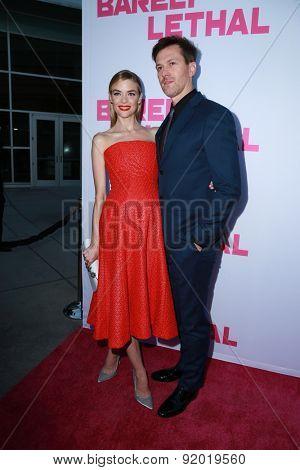 LOS ANGELES - MAY 27:  Jaime King, Kyle Newman at the
