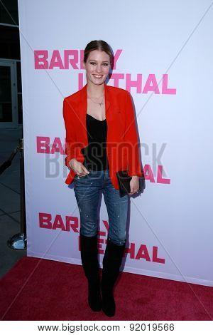 LOS ANGELES - MAY 27:  Ashley Hinshaw at the