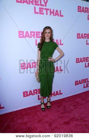 LOS ANGELES - MAY 27:  Emma Holzer at the