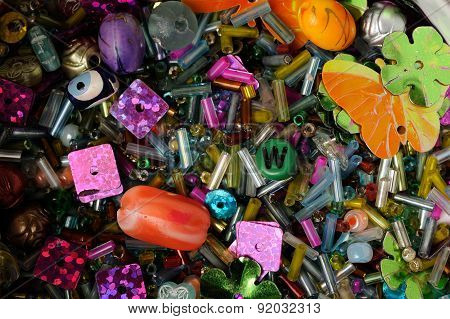 Seed Beads, Paillettes And Other Decorative Embellishments