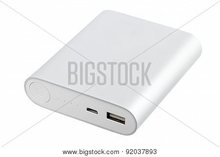 Portable power bank for charging mobile devices