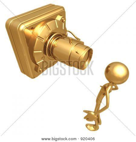 Big Security Camera