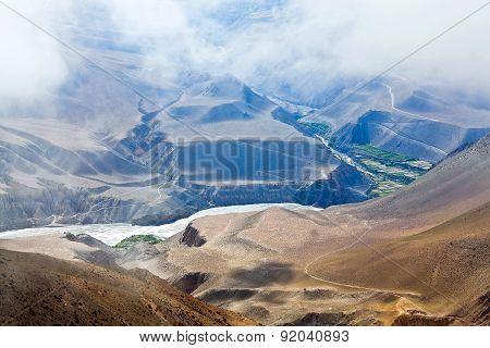 Kali Gandaki Valley In Nepal