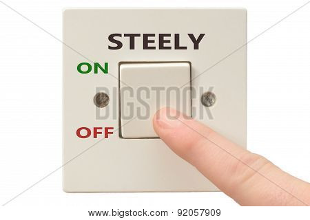 Anger Management, Switch Off Steely