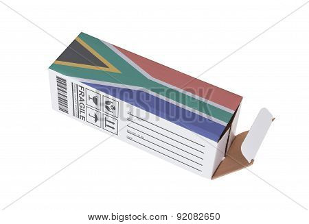 Concept Of Export - Product Of South Africa