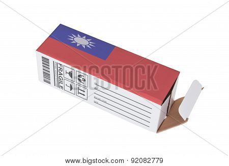 Concept Of Export - Product Of Taiwan