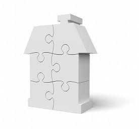 Jigsaw Puzzle White House