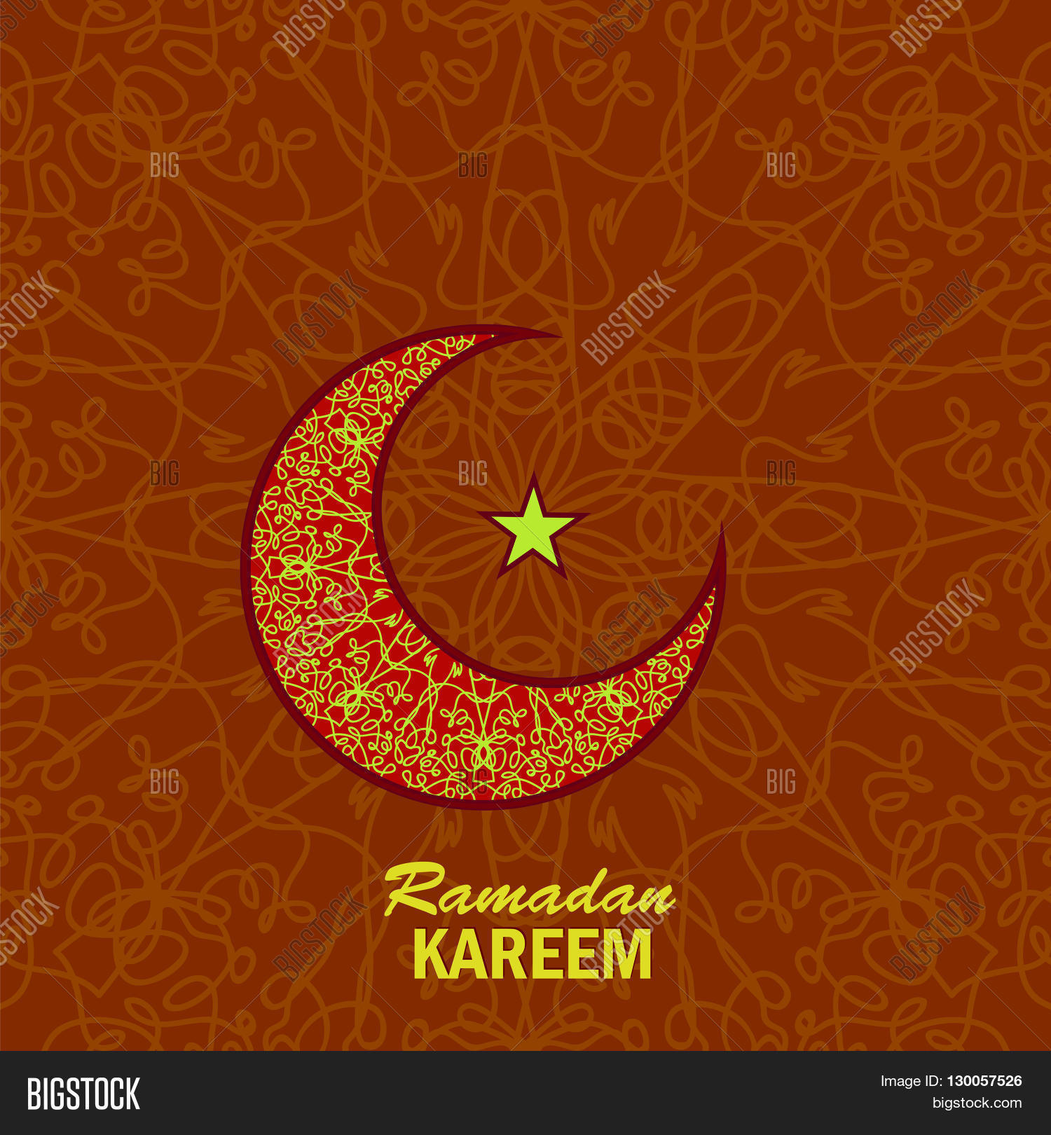 Ramadan Greetings Image Photo Free Trial Bigstock