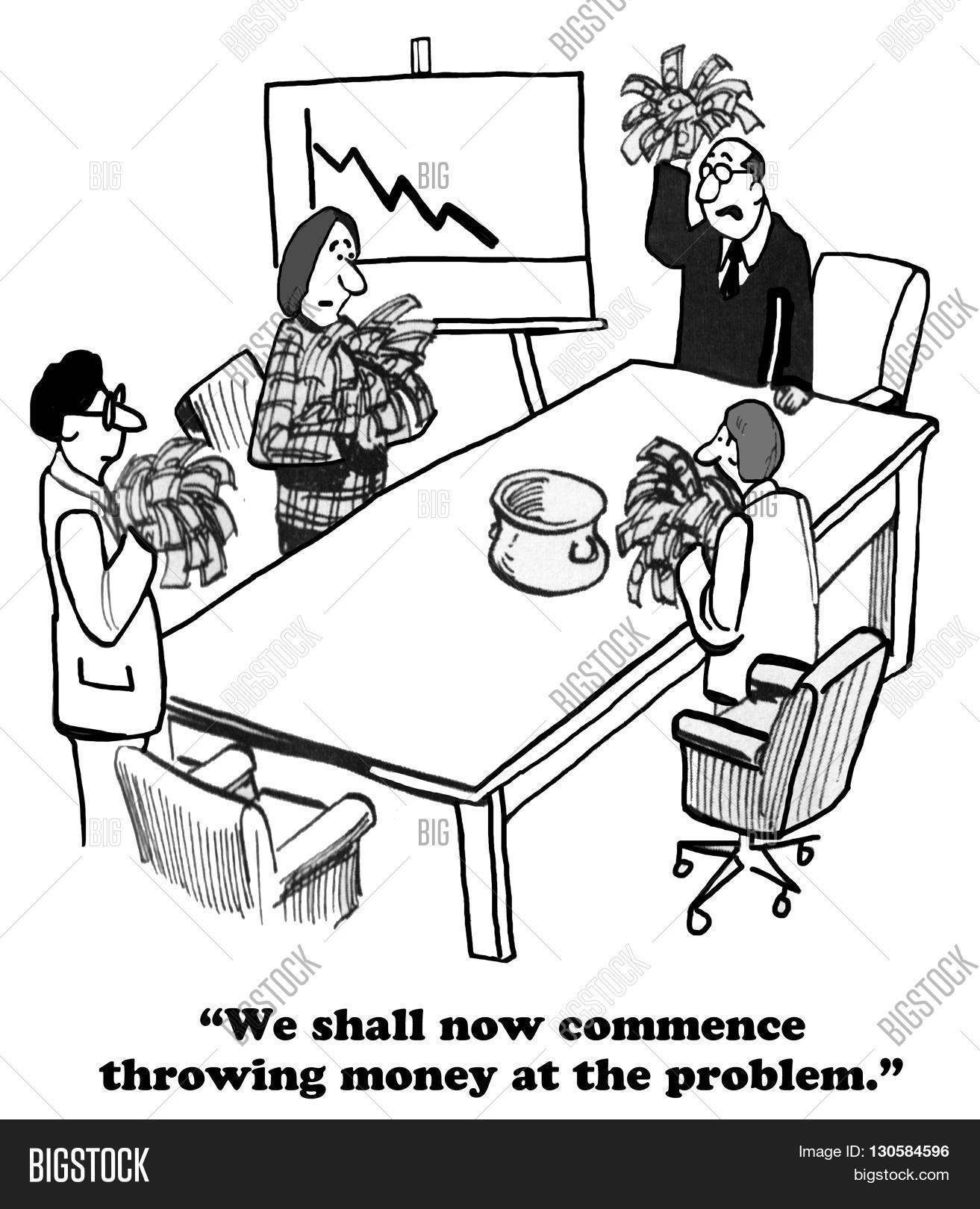 Business Cartoon About Image & Photo (Free Trial)   Bigstock