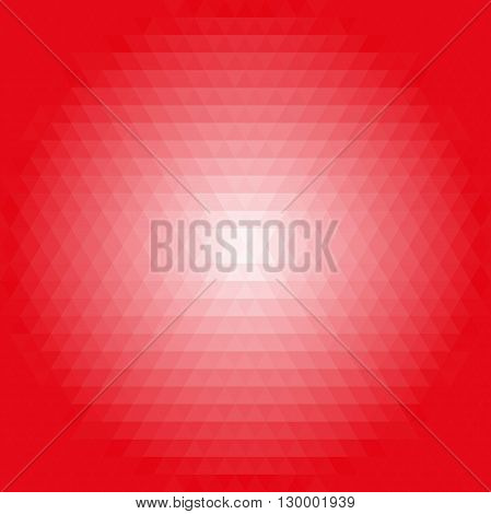 Geometric abstract backgroundred and pink triangles. Pattern with flow effect