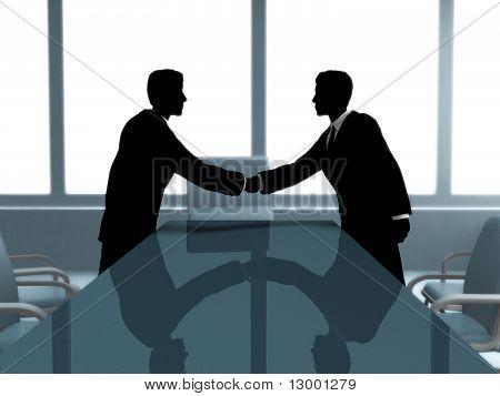 Businesss meeting.