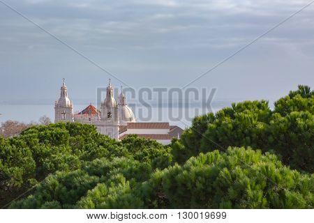 Igreja de Sao Vicente de Fora in Lisbon, Portugal