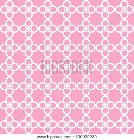 Cherry Blossom Pattern. Japanese pink pattern. Seamless texture with japanese floral pattern. All in a single layer. Vector illustration. Elements for design.