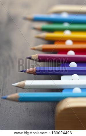 School Pencils And Bells