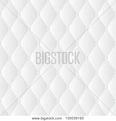 Vector abstract upholstery background. White vector upholstery