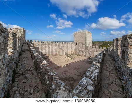 Sesimbra castle, Portugal.