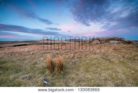Dusk Over Bodmin Moor