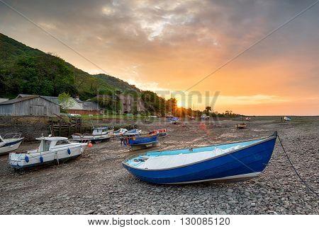 Boats At Porlock