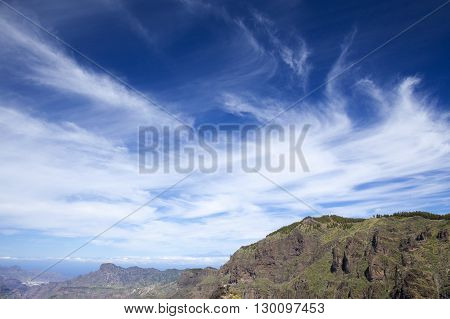 Gran Canaria, Calders De Tejeda In April