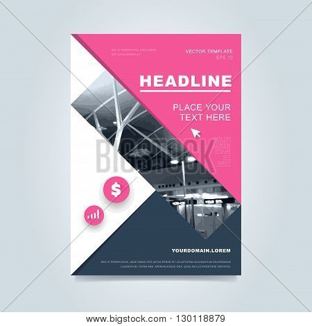 Brochure template vector photo free trial bigstock for Creative brochure template