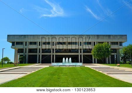 Kansas Supreme Court Judicial Center on a Sunny Day