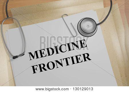 Medicine Frontier Medicial Concept