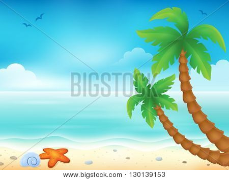 Beach theme image 7 - eps10 vector illustration.