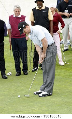 Mark Wahlberg at the 9th Annual Michael Douglas & Friends Celebrity Golf Tournament held at the Trump National Golf Club in Rancho Palos Verdes, USA on April 29, 2007.