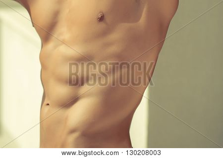 Male Torso And Side Chest