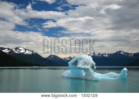 Iceberg At Perito Moreno, Patagonia, Province Of Santa Cruz, Argentina