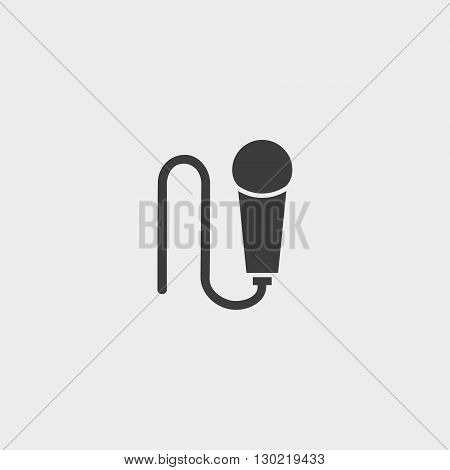 Microphone Icon microphone icon flat microphone icon picture microphone icon vector microphone icon EPS10 microphone icon graphic