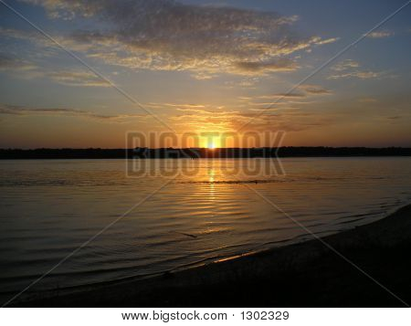 Sunset On Dnepr
