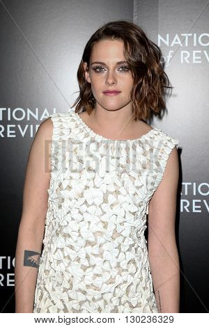 NEW YORK-JAN 5: Actress Kristen Stewart attends the 2015 National Board of Review Gala at Cipriani 42nd Street on January 5, 2016 in New York City.