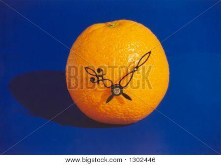 Orange-Clock