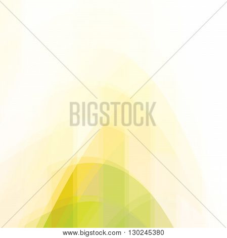 Abstract vector trendy yellow triangular pattern. Modern polygonal background. Colorful mosaic.