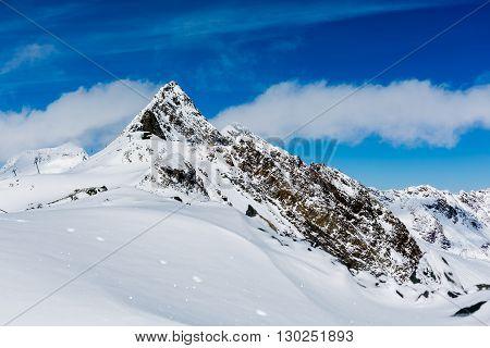 Skiing Stubai Glacier, Tirol, Innsbruck Land, Austria