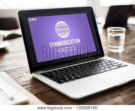 Globe Icon Internet Online Web Graphic Concept