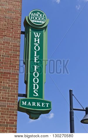Indianapolis - Circa May 2016: Whole Foods Market America's Healthiest Grocery Store IV