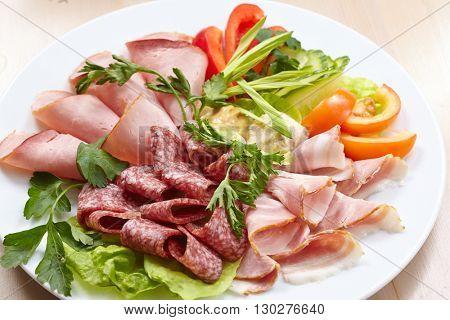 meat appetizer