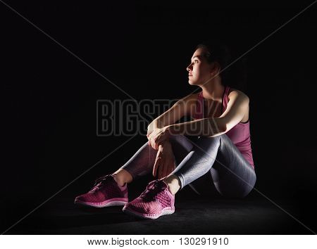 athlete runner close-up. healthy lifestyle and sport concepts.