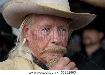 Cody - Usa - August 21, 2012 - Buffalo Bill Gunfight At Irma Hotel